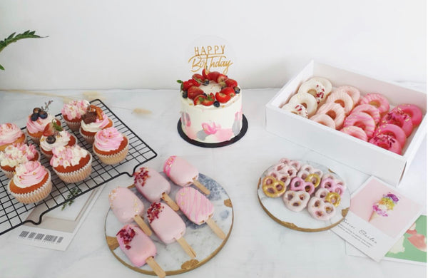 Baby Pink Party Desserts Set (2 days Preorder)