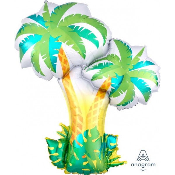 "Palm Trees SuperShape (34"") *Helium*"