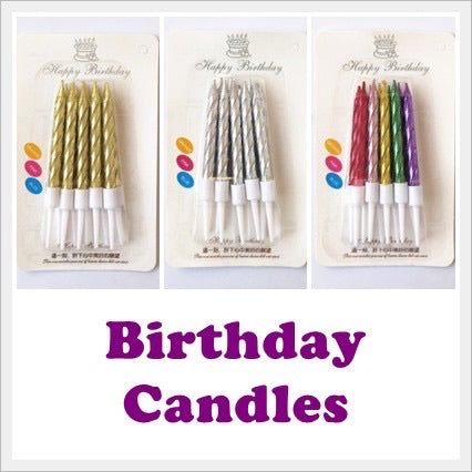 8cm Candles (10pcs)