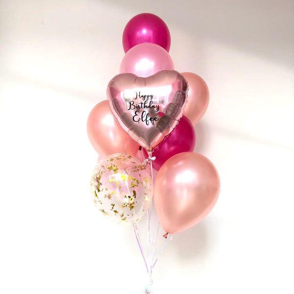 *JAN-FEB RM75* Light Pink & Fuchsia *Helium*