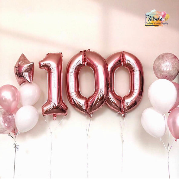 100 Days Balloon Set *Helium*