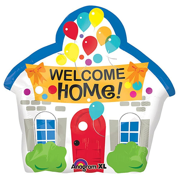 "Welcome Home! Jr. Shape (20"") *Helium*"