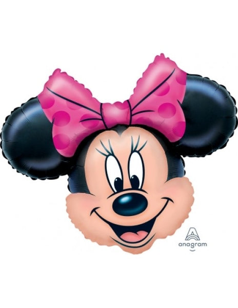 "Disney Minnie Head (28"") *Helium*"