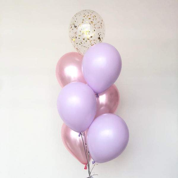 "12"" Purple Pink Bunch *Helium*"