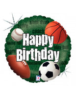 "Soccer Happy Birthday (18"") *Helium*"