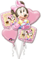 Disney Minnie Baby Bundle Bouquet  *Helium*