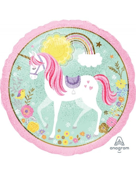 "Believe In Unicorns (18"") *Helium*"