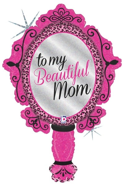 "To My Beautiful Mom LARGE (39"") *Helium*"