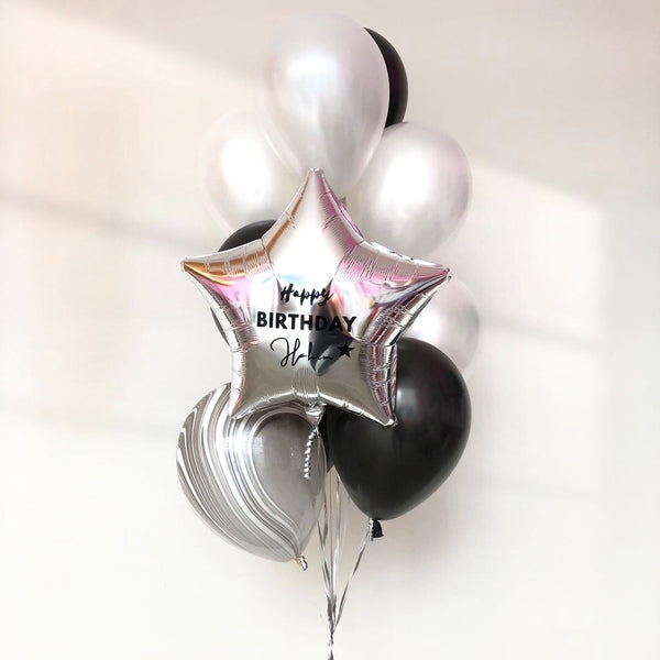 *JAN-FEB RM75* Black & White *Helium*