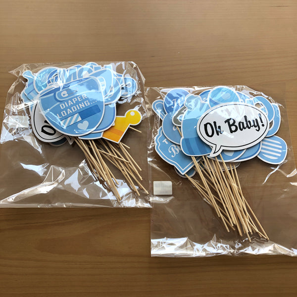 Baby Photo Props (BLUE)