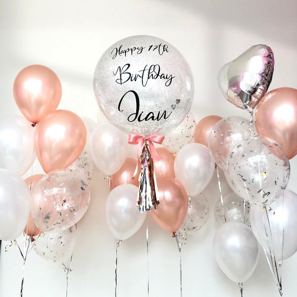 *March & April RM299* White & Rose Gold *Helium*