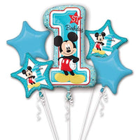 Disney Baby Mickey Mouse Balloon Bouquet *Helium*