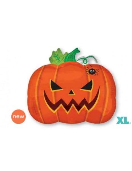 "Pumpkin Jr. Shape (18"") *Helium*"