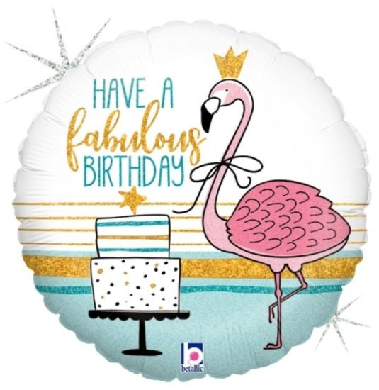 "Have A Fabulous Birthday! (18"") *Helium*"