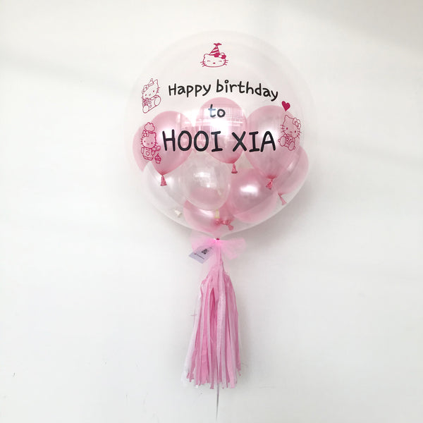 "(24"" Bubble Balloon) Hello Kitty  *Helium*"