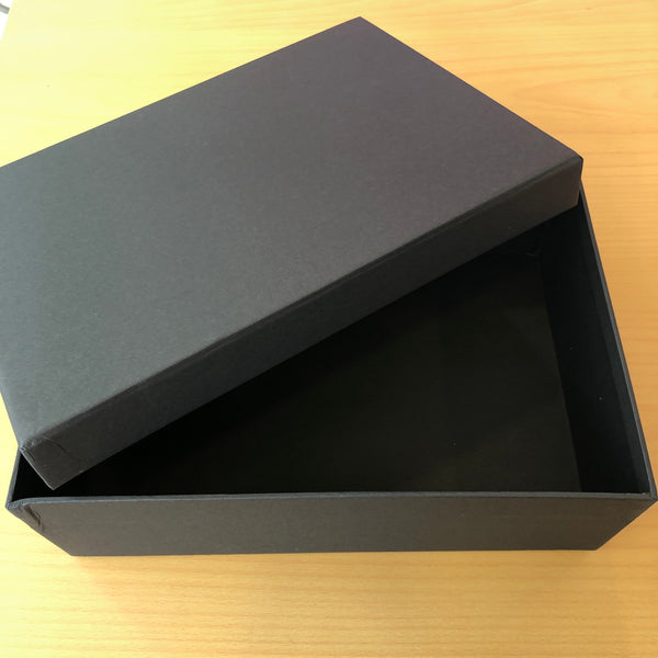 Plain Black Gift Box (Size: Large)
