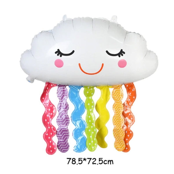Cloud Rainbow Shower Foil