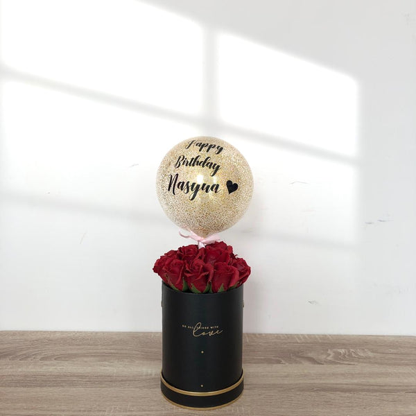 (Classic) Classy Red - Soap Rose Blooms Box