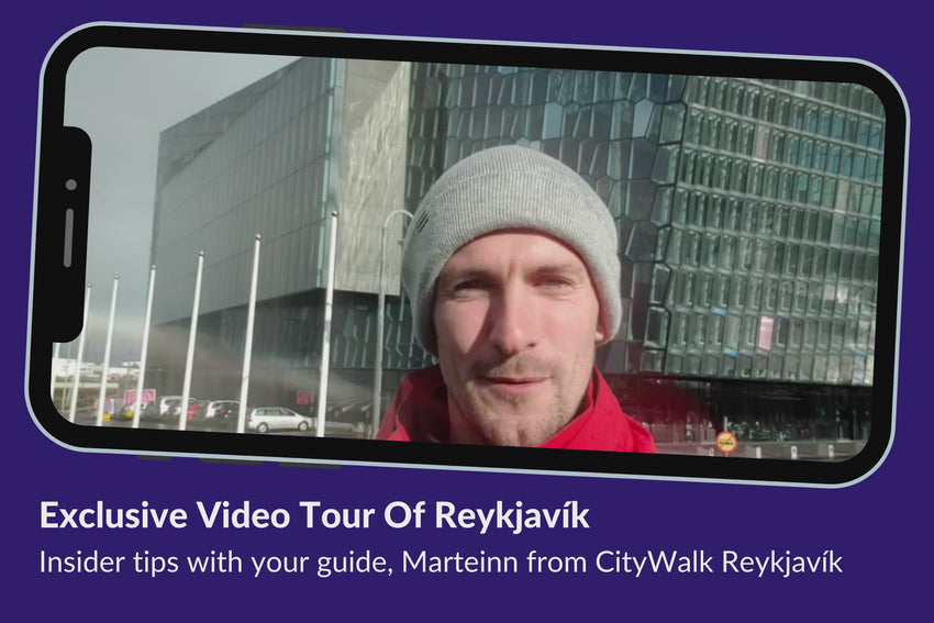 Reykjavik tour video with Marteinn from Citywalk