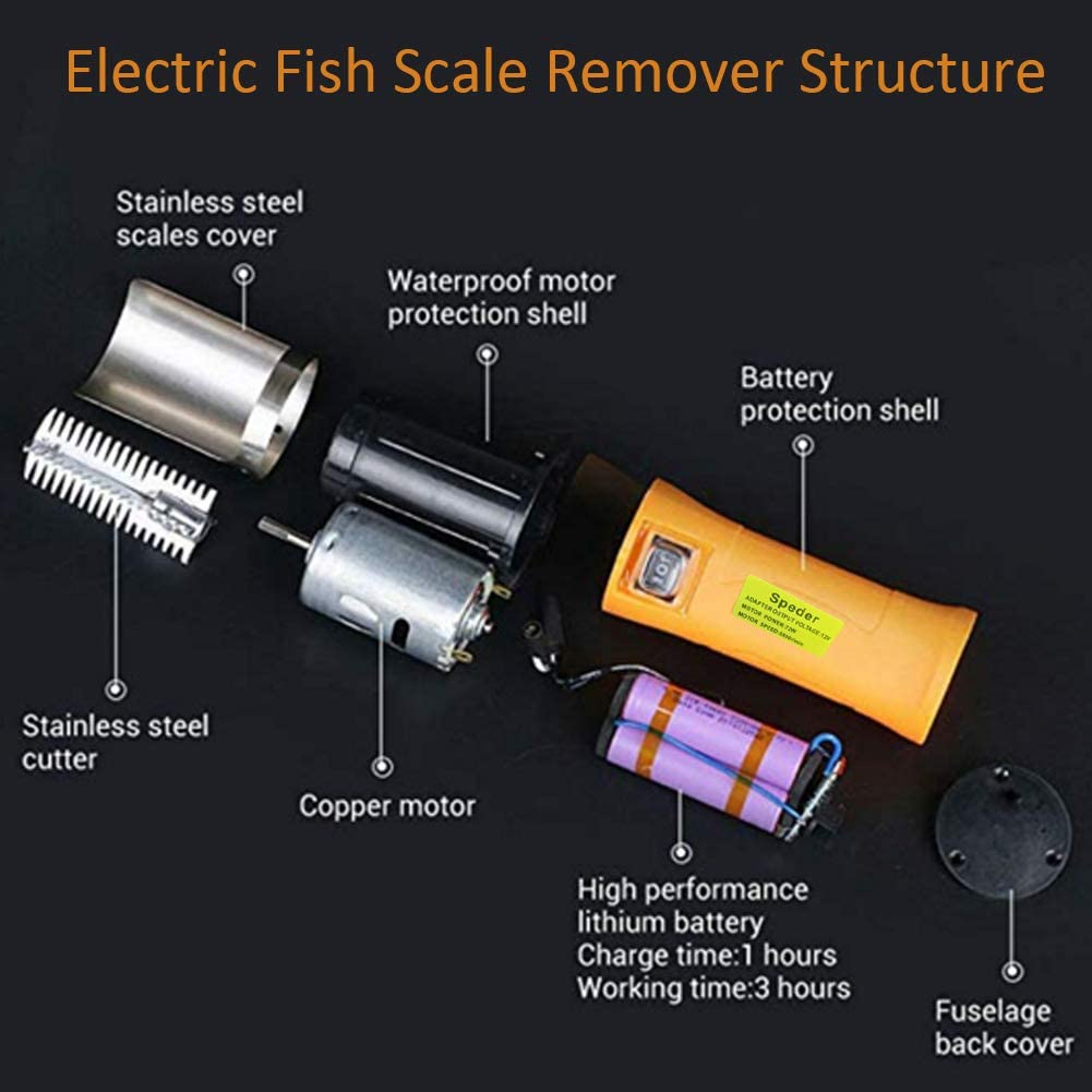 The Speedster - Electric Fish Scaler