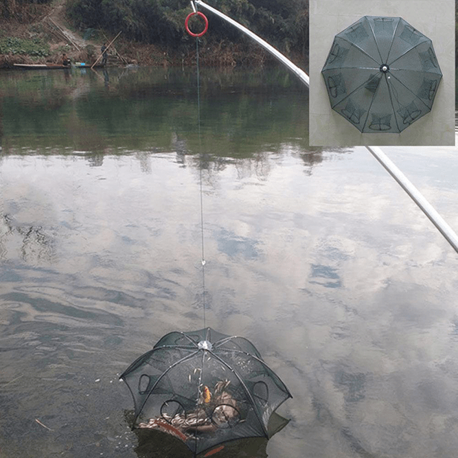 The Automatic™ Fishing Trap with Bait Pocket