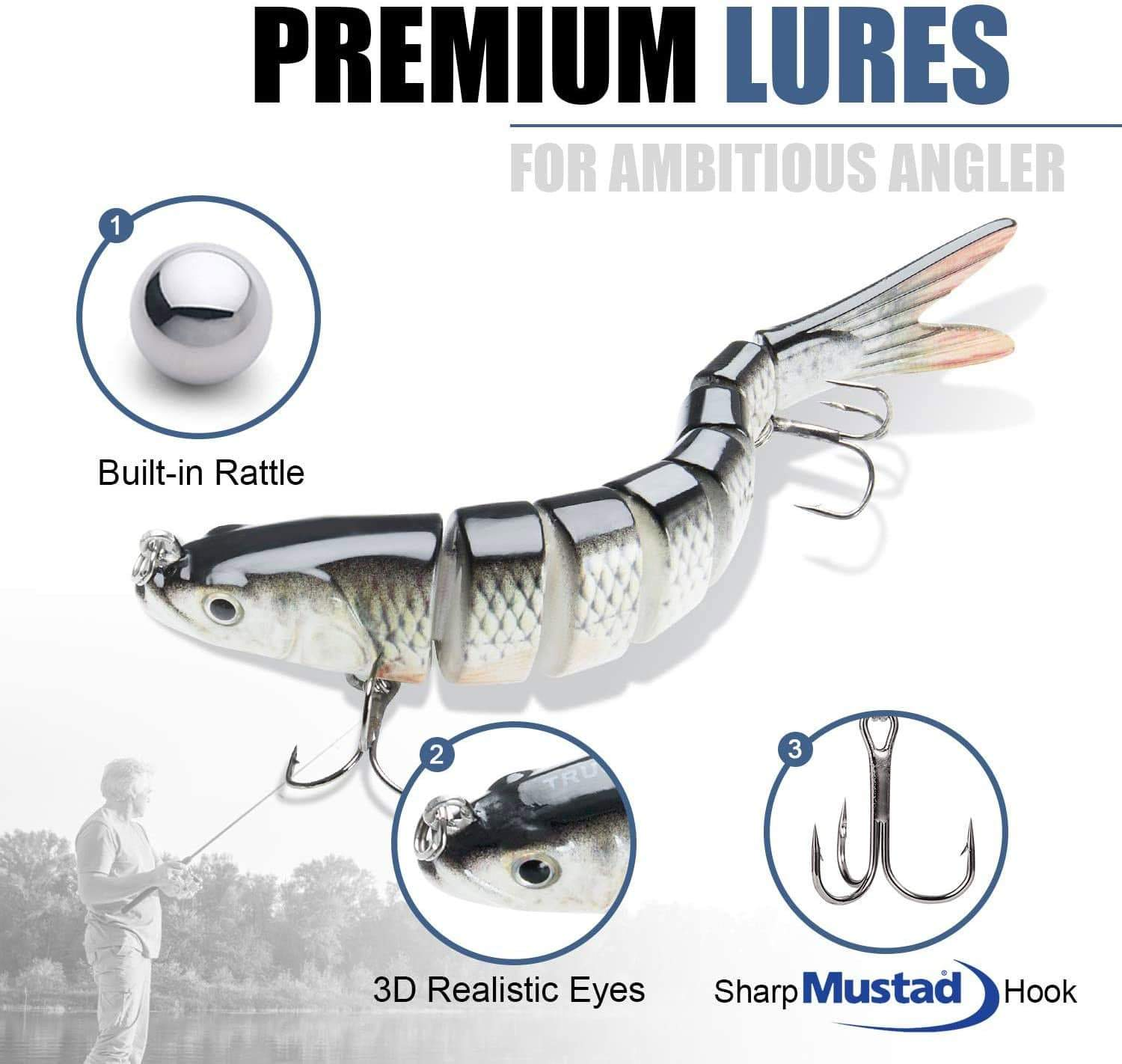 Bass Hunter - Lifelike Swimbait Collection