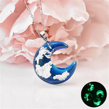 Load image into Gallery viewer, Trendy Transparent- Blue Sky Necklace