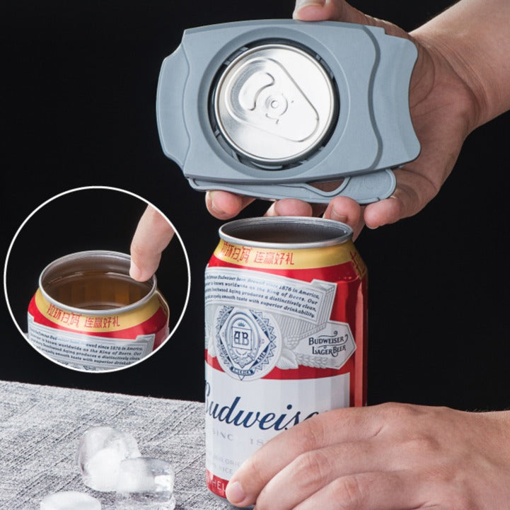 Topless Can Opener Handheld Potable Screw Cap Jar Multifunctional Bottle Opener Safety Camping Bar Tool