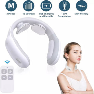 Intelligent Neck Massager with Remote Control