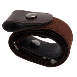 No-Buckle Invisible Elastic Waist Belts