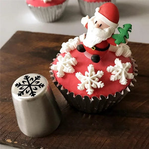 Christmas Icing Piping Nozzle