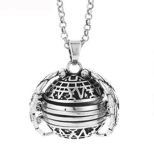 Expanding Angel Wing Photo Locket