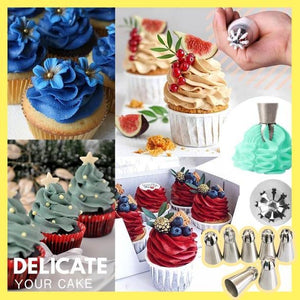 Cake Decor Piping Nozzle Set
