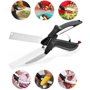 Kitchen Scissors With Cutting Board