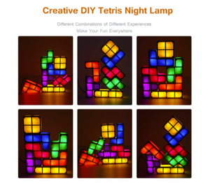 The Tetris Lamp