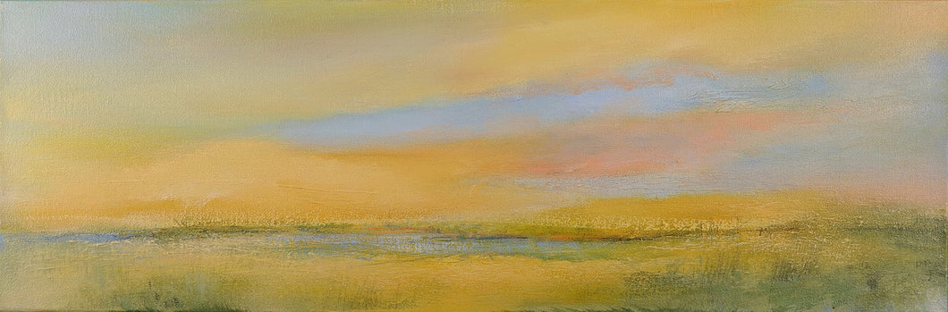 Looking At The Calm Right In Front Of You, 12 x 36 inches
