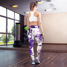 Load image into Gallery viewer, Purple Yoga Leggings
