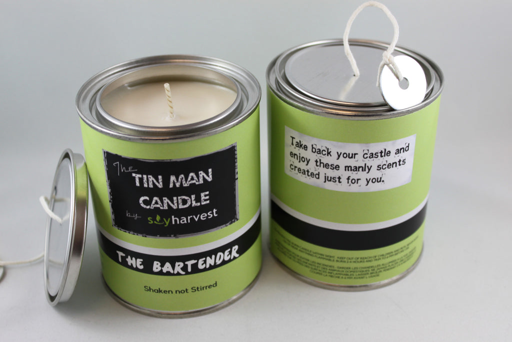 TIN MAN CANDLE - Bartender