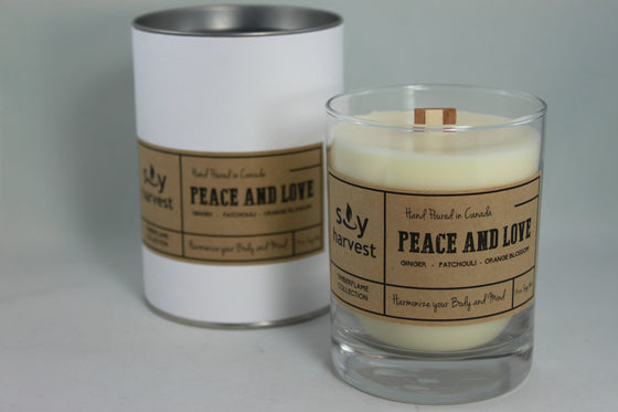 Peace & Love Candle