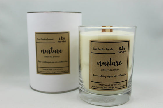 Mother's Day Soy Timberflame Candle.  Nurture