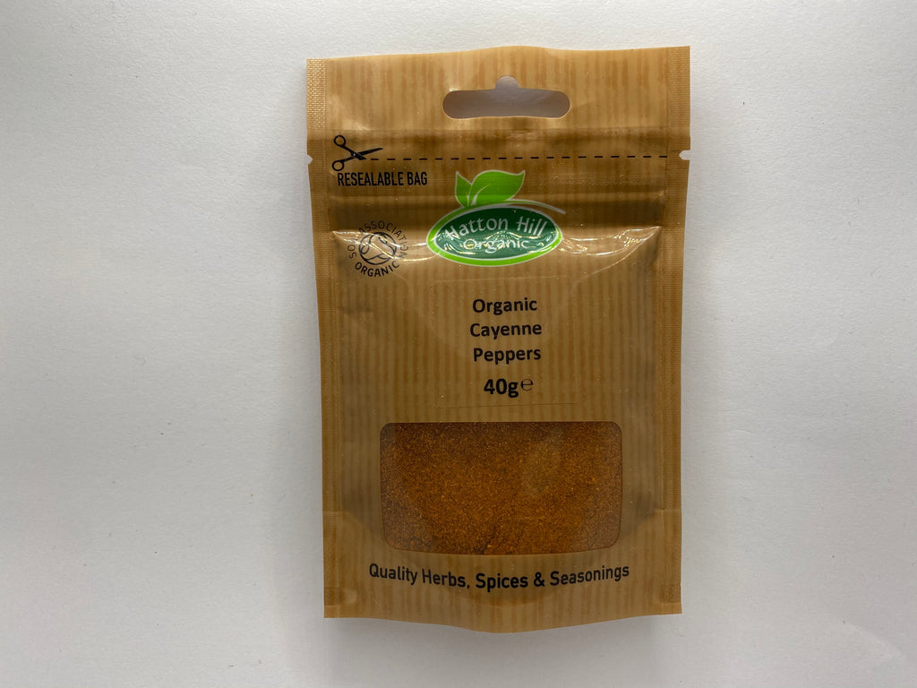 ORGANIC CAYENNE PEPPER - Bens Greengrocers