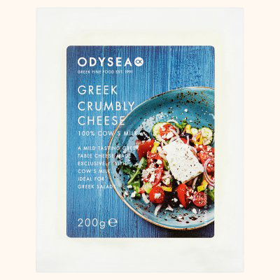 ODYSEA GREEK CRUMBLY CHEESE - Bens Greengrocers
