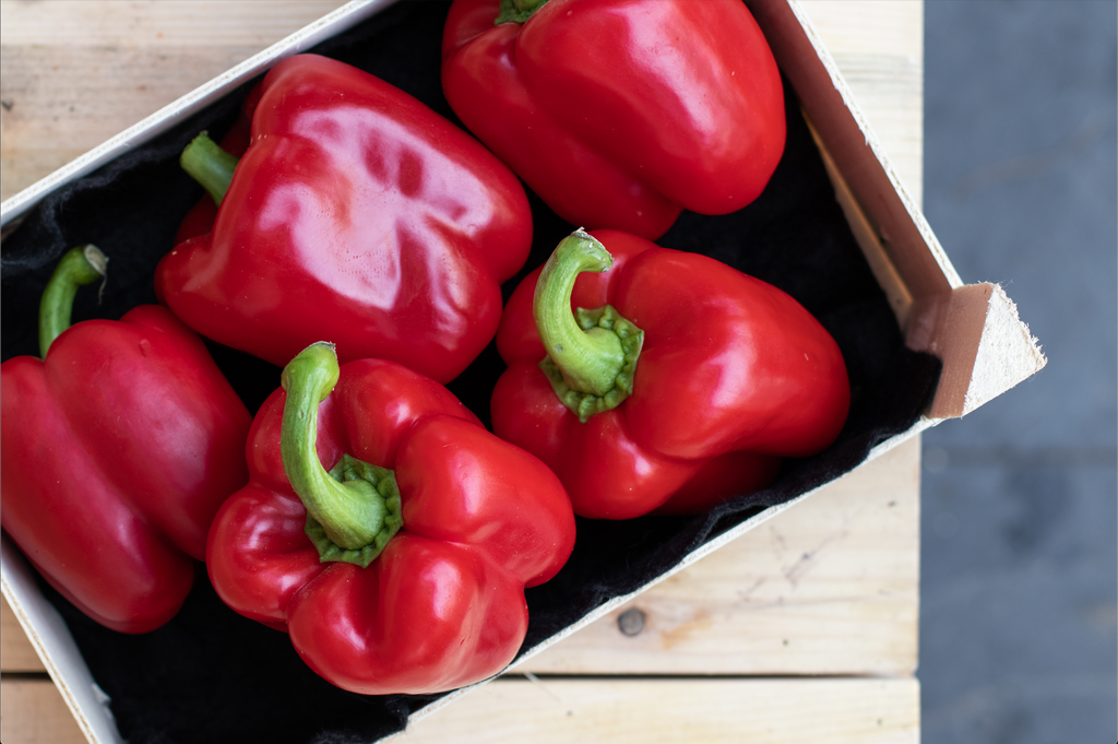 ORGANIC RED PEPPERS - Bens Greengrocers