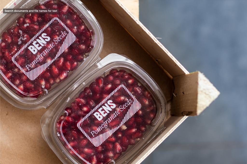 POMEGRANATE SEEDS - Bens Greengrocers