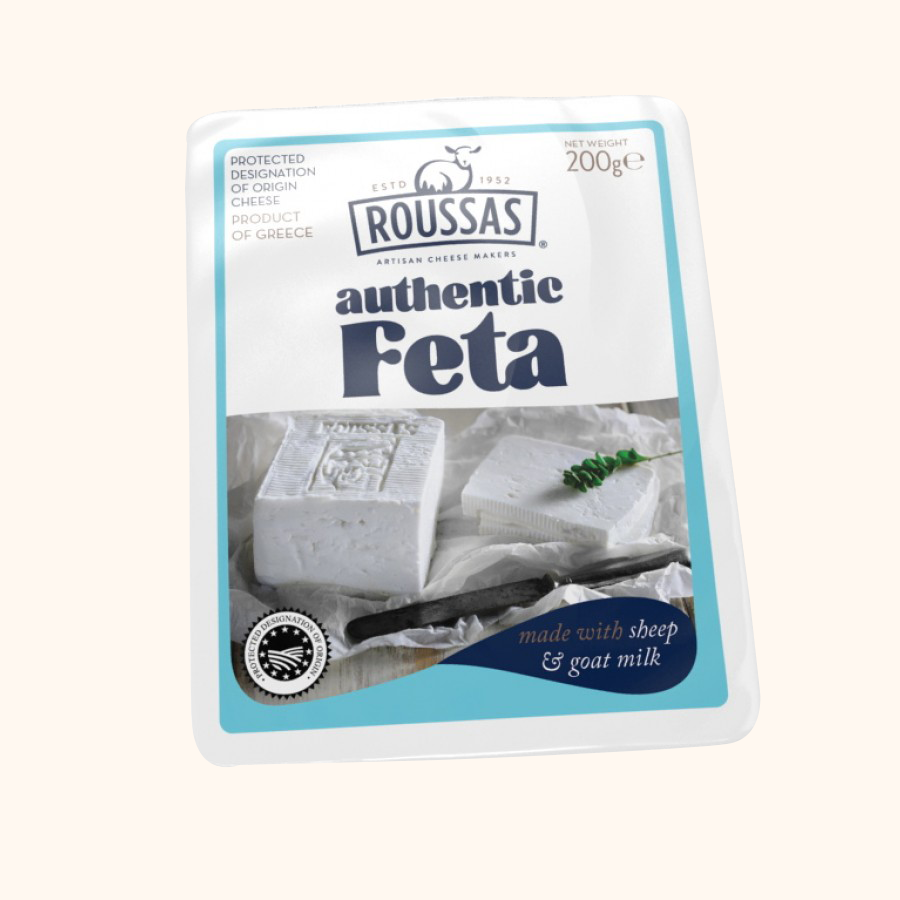 ROUSSAS AUTHENTIC FETA CHEESE - Bens Greengrocers