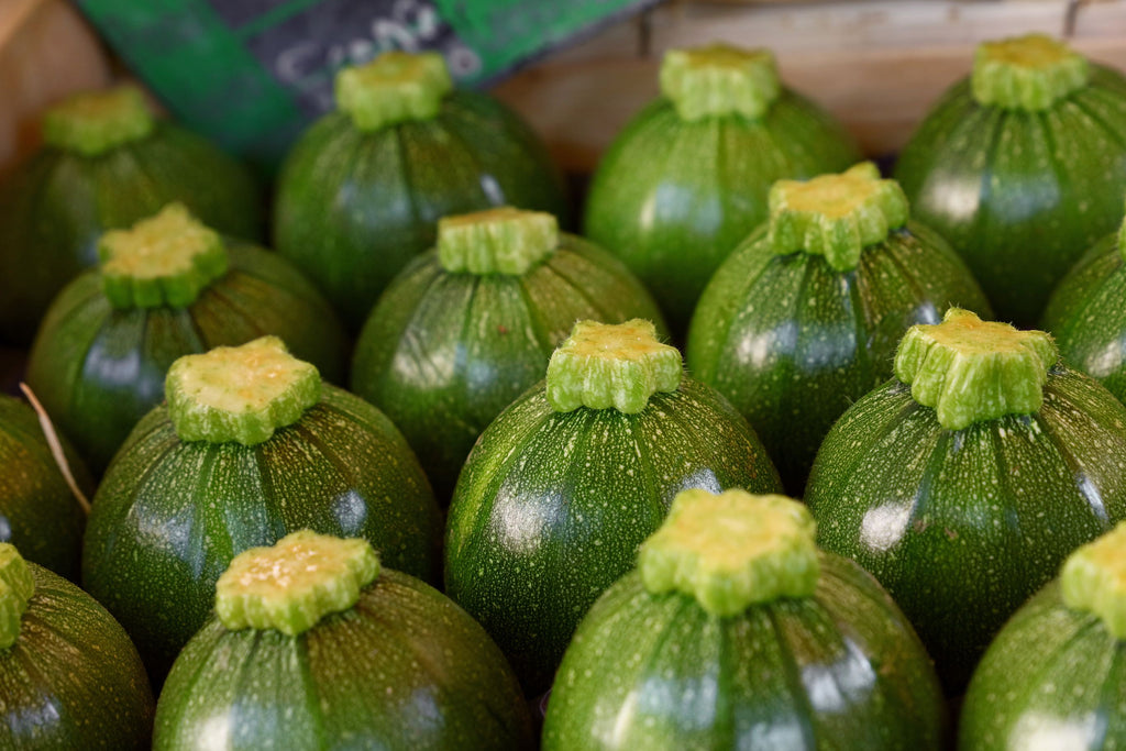 COURGETTE ROUND GREEN - Bens Greengrocers