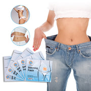 50 Patches/Lot Slimming Navel Sticker