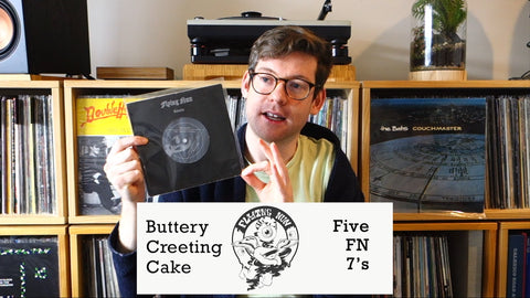 BUTTERY CREETING CAKE: EP 2 - FIVE FLYING NUN 7' SINGLES