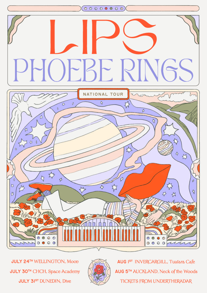 Lips and Phoebe Rings National Tour