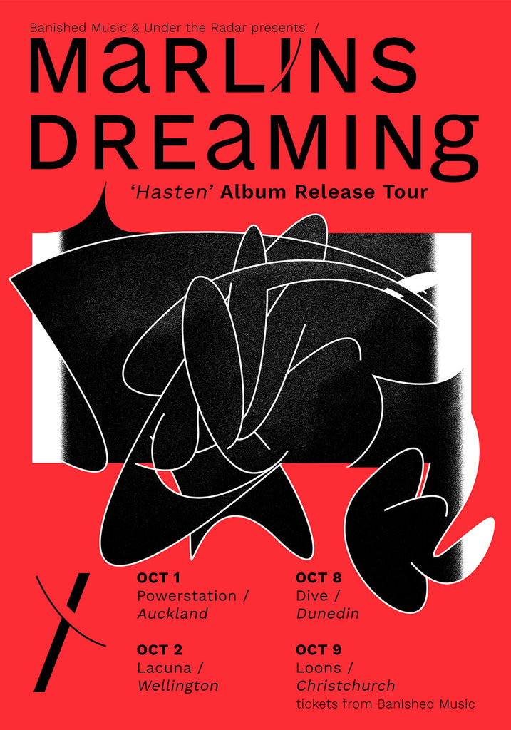 Marlin's Dreaming Tour Poster